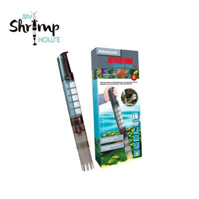 Aspirador de fondo Eheim de alta calidad que le permite hacer una limpieza de la grava óptima y eliminar suciedad y residuos de forma rápida y cómoda