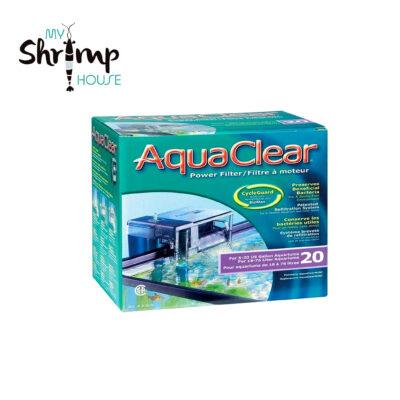 El sistema de filtración de AquaClear utiliza todo el potencial del filtro, de forma que asegura el empleo total del volumen del mismo. Su diseño maximiza todo su eficiencia. Promueve la recirculación del agua y permite un fácil intercambio de sus componentes.
