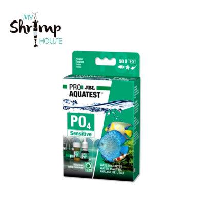 Test líquido JBL Sensitive para realizar la medición muy precisa de fosfatos PO4 del agua de tu acuario. Escala 0-0.1 con pasos 0.05mg/l y 0.2-1.2 con pasos 0.2mg/l.
