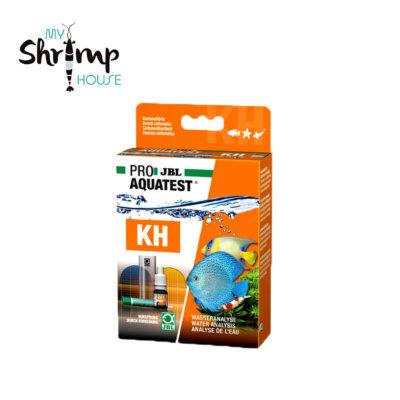 Test líquido JBL para realizar la medición precisa del KH del agua de tu acuario. Precision de 0,5º