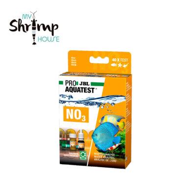 Test rápido para determinar la concentración de nitratos en acuarios marinos y de agua dulce y estanques, test de nitrato NO3