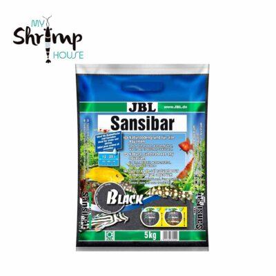 jbl sansibar 5kg Grava negra perfecta para la decoración de acuarios y terrarios. Granulometría: 0,2 a 0,5mm